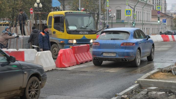 Во всём виноват Челябинск: мэрия объяснила, почему не может закончить ремонт на проспекте Ленина
