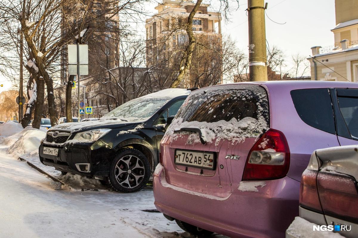 К западу от Новосибирска праворульные машины уже не так популярны