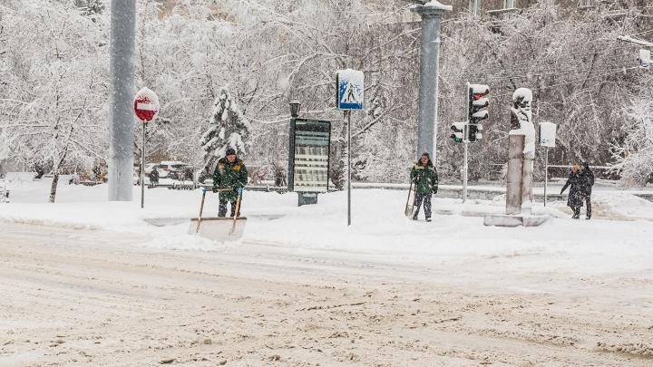 Заметёт и сдует: в Новосибирск идут снегопады с сильным ветром