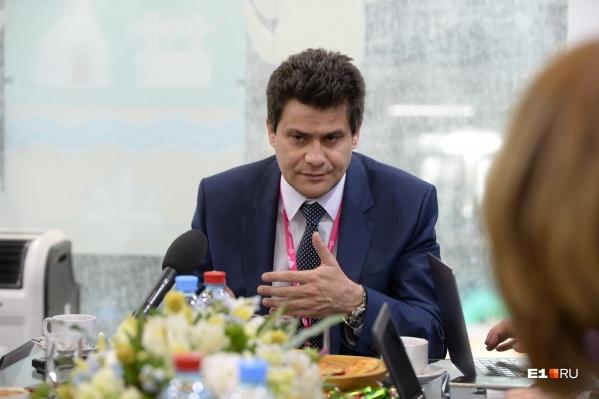 Александр Высокинский выступил на «Иннопроме»