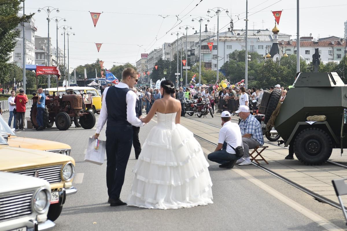 Всего в конкурсе «Городская свадьба» в День города поучаствовала 21 пара