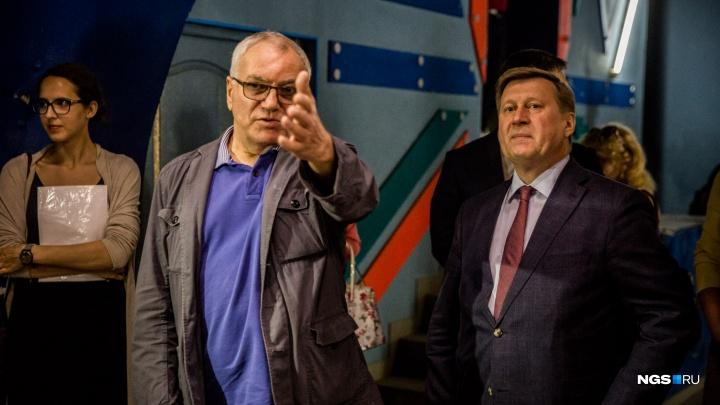 Театру Афанасьева разрешили остаться на Вокзальной магистрали почти на год