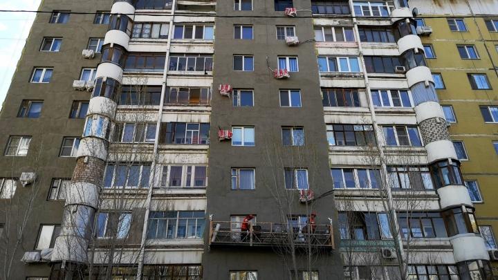 Перекрасят: в Самаре стартовал ремонт домов на Крымской площади