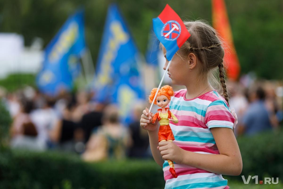 Даже дети и куклы против пенсионной реформы