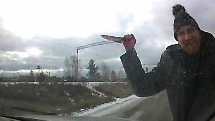 Убийца, зарезавший двух женщин в посёлке Кедровка, попал на запись видеорегистратора