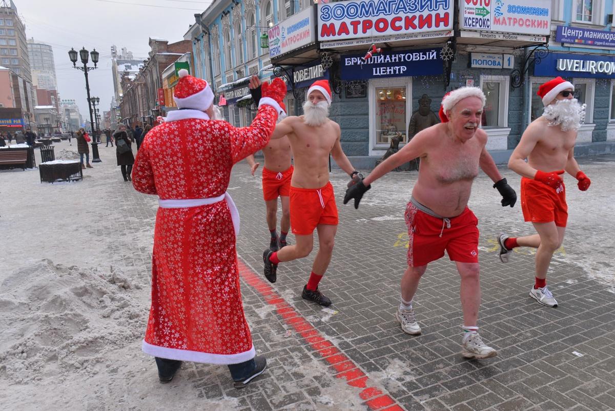 Деды Морозы бывают разные