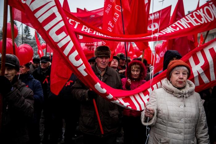 Коммунисты отметят праздник в Академгородке, в Первомайском районе и на Красном проспекте