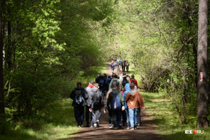 Горожане выбирали из трех маршрутов — на 18 километров, 36 и 50