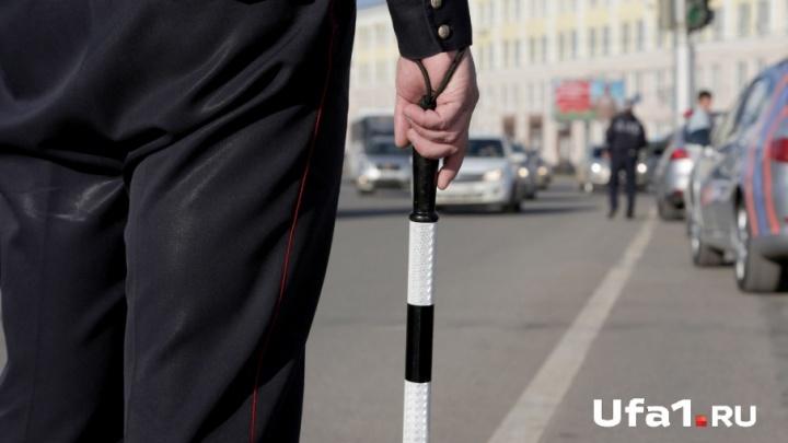 В Уфе задержали водителя, повторно севшего за руль подшофе