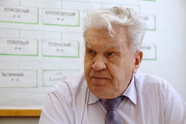 Вячеслав Журавлёв раньше возглавлял Новосибирский областной совет ветеранов