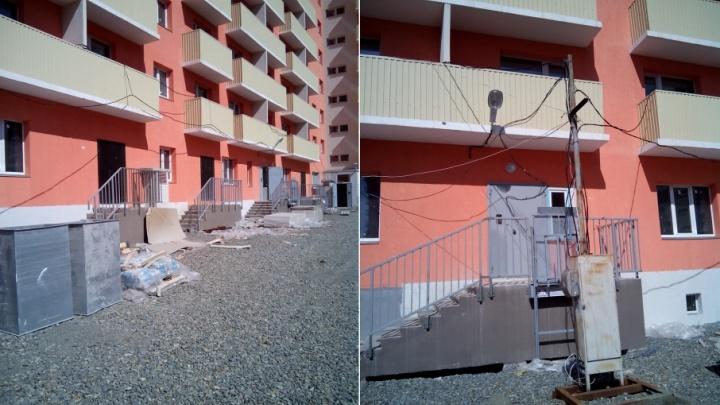 «Дойдём до Путина»: дольщикам Копейска предложили заселяться в квартиры без воды и света