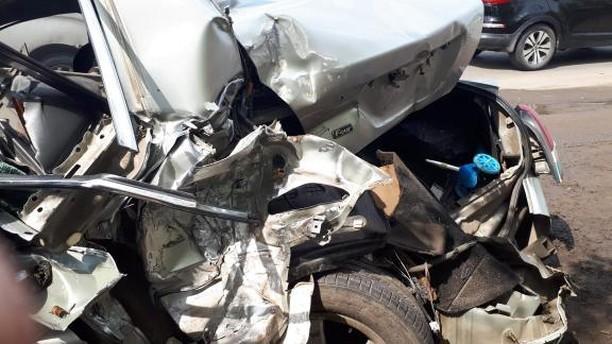 Появились подробности массовой аварии наФрезерной с участием грузовика