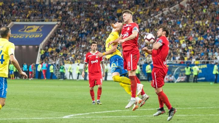 ФК «Ростов» проиграл борьбу за финал Кубка России