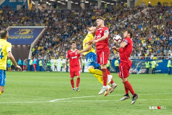 «Ростов» не смог забить в нескольких опасных моментах