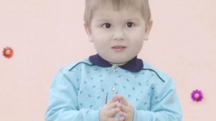 Трехлетнего Альберта из Уфы покажут в передаче «Пока все дома»