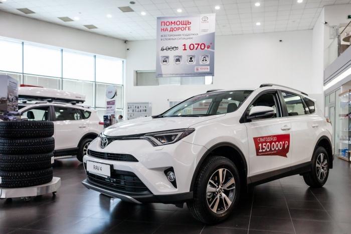 Первые позиции по продажам в России уже многие годы удерживают автомобили корпорации Toyota