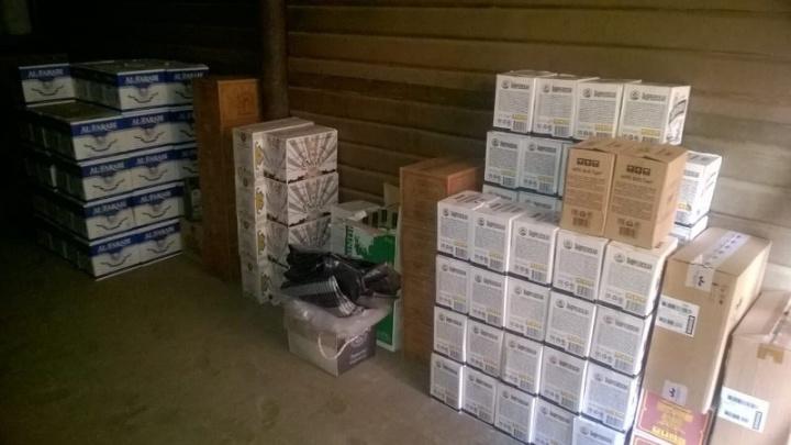 На Южном Урале полицейские накрыли очередной склад с «палёнкой»