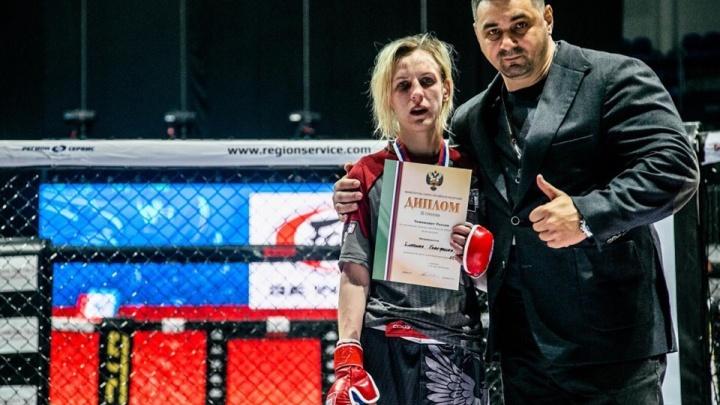 Ростовчанка Екатерина Блохина заняла 3-е место на чемпионате России по MMA