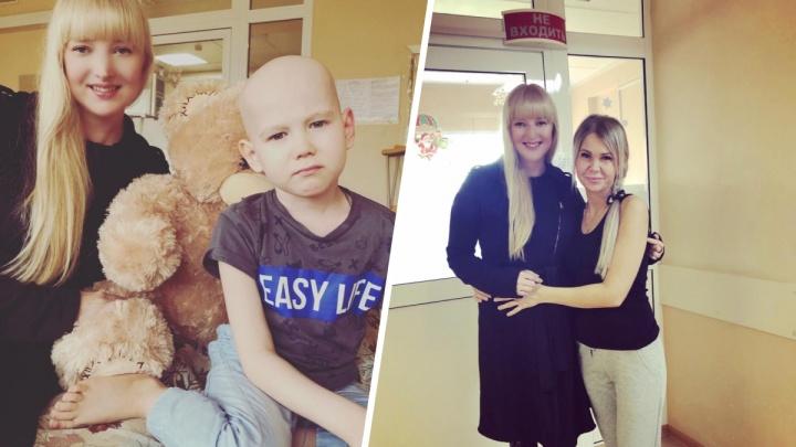 Актриса Ольга Чурсина навестила в больнице мальчика, которого отказались лечить из-за праздников