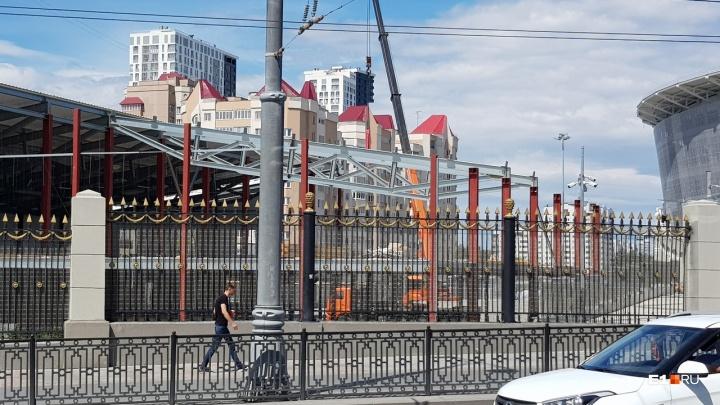 «Екатеринбург Арена» ищет инвесторов, которые построят на месте временных сооружений ФОК или бассейн