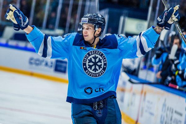 Хоккеист «Сибири» попал в одну из команд на Матч звёзд КХЛ