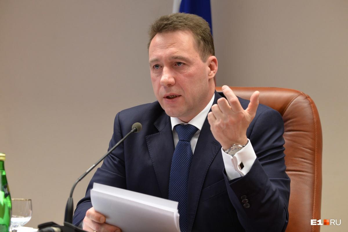 Игорь Холманских покинул пост полпреда в 2017 году