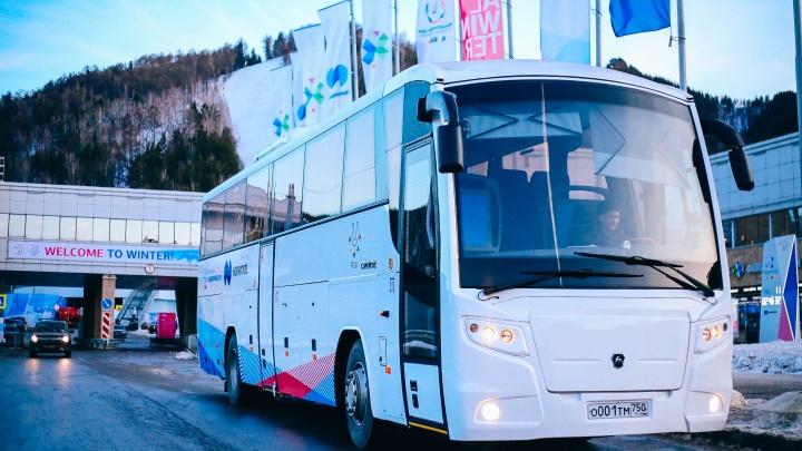 Бесплатные автобусы до и из аэропорта Красноярска запускают на время Универсиады