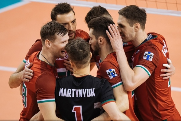 Волейболисты из Новосибирска одержали итоговую победу на выезде