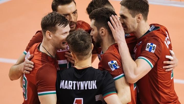 Всё решил «золотой сет»: новосибирский «Локомотив» вышел в 1/8 финала Кубка Европейской конфедерации