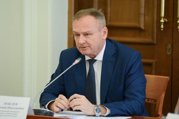 Евгений Лебедев сегодня подал в отставку