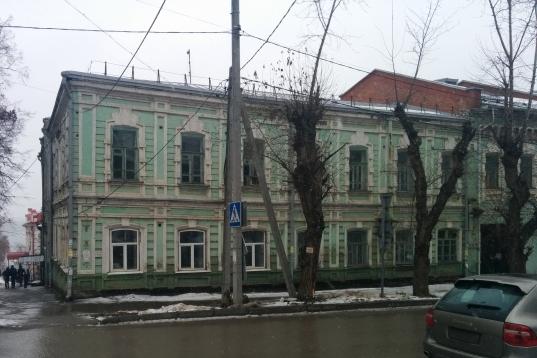 Дом А.П. Кропачева расположен на улице Советской, 10