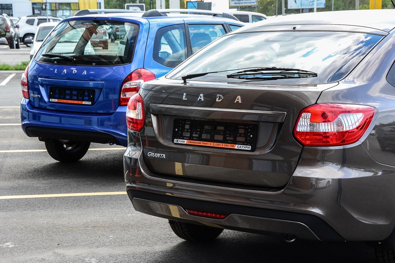 Lada Granta с сентября прошлого года полностью вытеснила Lada Kalina и выпускается в четырёх типах кузовов