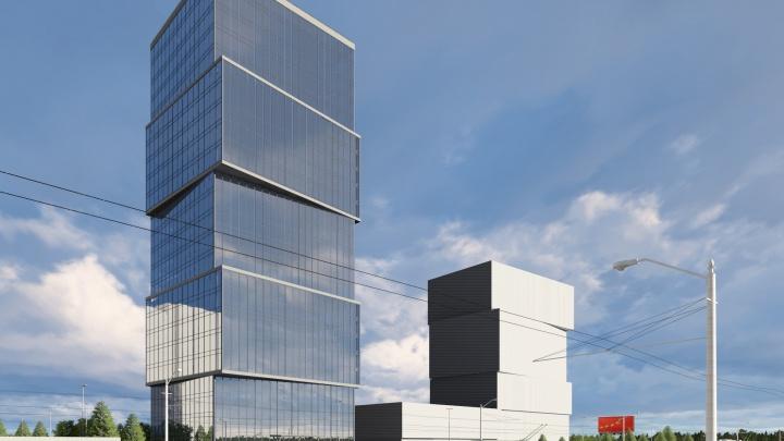 Башни-близнецы: возле метро «Октябрьская» построят гостиницу — она будет копией здания на Кирова, 23