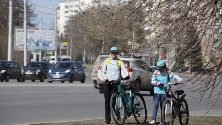 Уфимцев приглашают приехать на работу на велосипеде