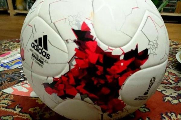 Волгоградец продаёт мяч за 3000 в тысячу раз дороже стоимости, чтобы попиарить бизнес