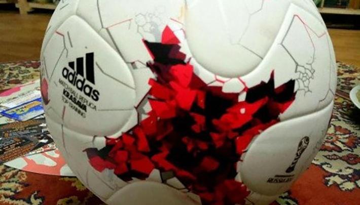 Волгоградец продаёт футбольный мяч за 30 млн для пиара своего бизнеса