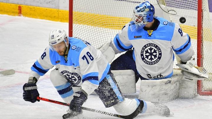 «Сибирь» проиграла «Металлургу» в первом выездном матче нового года