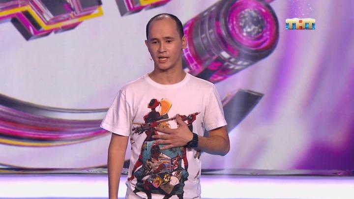 Психиатр с ДЦП из Тюмени выступил в «Comedy Баттл» на ТНТ. Тимур Родригез похвалил его за юмор