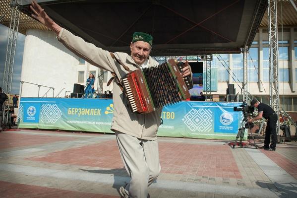 Фольклориада призвана показать многообразие традиционного культурного наследия человечества