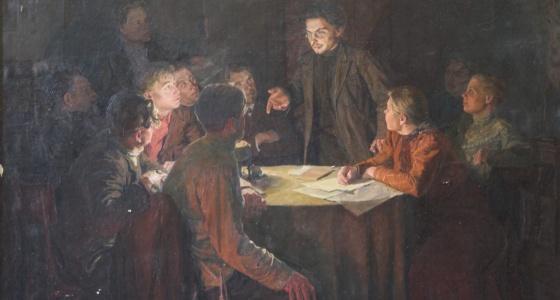 В интересах революции: в доме генерала Качки в центре города устроили подпольную школу агитаторов