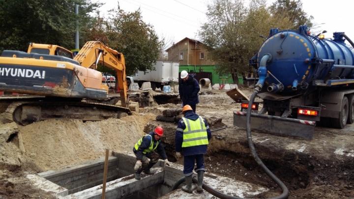 На ремонт канализационного коллектора на улице Монтажников потратят больше 98 миллионов рублей