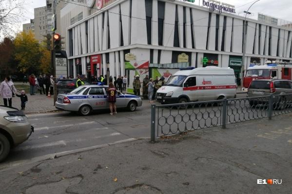 Одного из пострадавших увезли в больницу