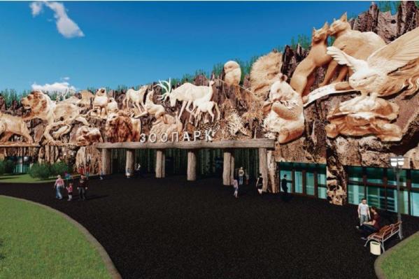 Так должен выглядеть новый зоопарк на Нагорном