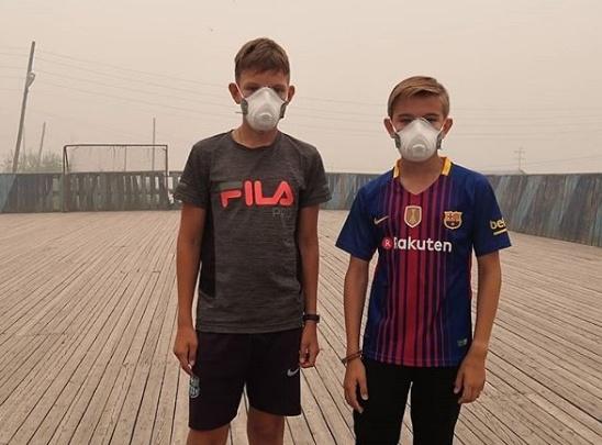 «Нет сил. Болит голова и тошнота»: Эвенкия задыхается в дыму от лесных пожаров