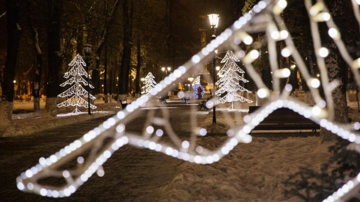 Стало известно, как украсят Ярославль к Новому году и сколько на это потратят денег