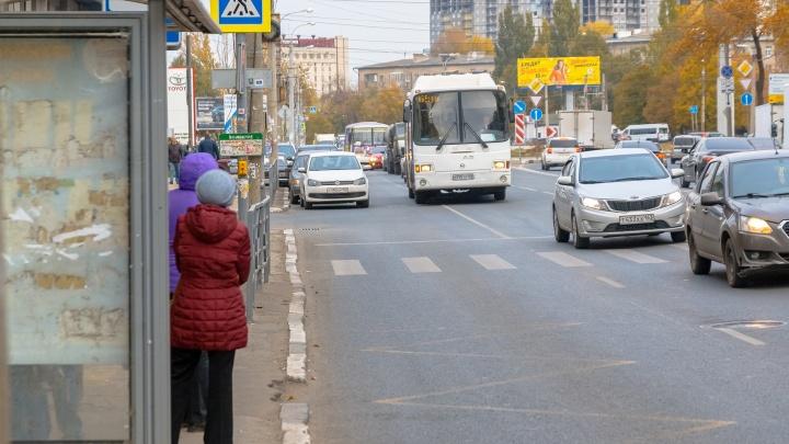 В Самаре хотят установить остановки с кнопками вызова автобуса