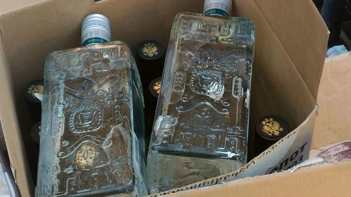 Заботливый сын в честь дня рождения отца решил подарить ему 801 бутылку алкоголя