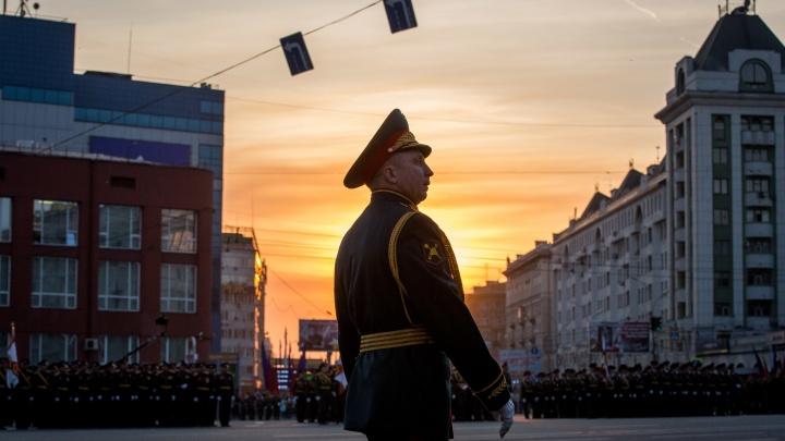 Фотоподборка: самые яркие моменты последней репетиции парада Победы