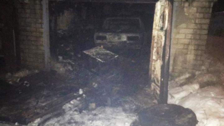 В Ярославле после пожара в гараже нашли тело мертвого мужчины