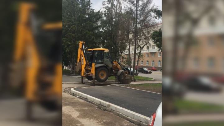 Уфимские машинисты экскаватора: «Мы ничего не накручиваем»